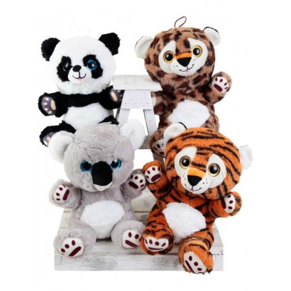 "Stuffed animals ""Give me a hug"""